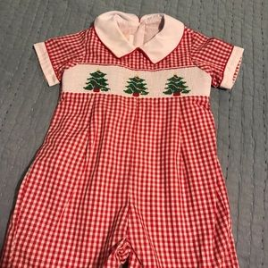 Toddler size 12 Christmas shirts outfit